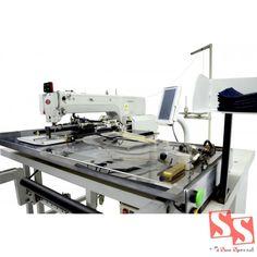 Máquina de Costura Industrial Filigrana Pneumática Automatizada para Bolso SS3020-TD-01MSNW