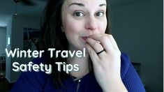 Winter Travel Safety Tips (Damsel in Defense Tools To Help You) // Check out today's video filled with the winter travel tips to keep you and your family saf.