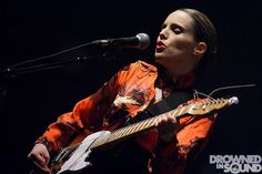Anna Calvi @ Shepherds Bush Empire, London - by Burak Cingi