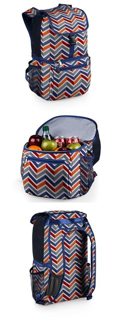 """Picnic Time """"Pismo"""" Cooler Backpack with Vibe Pattern"""