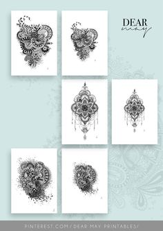 Mandala Wall Art Bundle 2 ⋆ Mandala Prints ⋆ Black and White ⋆ Wall Decor ⋆ Boho Chic ⋆ Minimalist Design ⋆ Digital Download ⋆ Printable ⋆ Dear May Printables White Wall Decor, As You Like, White Walls, Minimalist Design, Boho Decor, Decorating Your Home, Boho Chic, Mandala, Printables