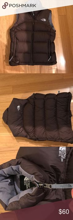 The North Face Puffer Vest Perfect condition Nupste 2 vest. Stow away pocket inside. All zippers and pockets are like new.  Last picture does not reflect vest color. The North Face Jackets & Coats Vests
