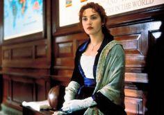 Kate Winslet as Rose DeWitt Bukater in Titanic Kate Titanic, Titanic Ship, Titanic Movie, Rms Titanic, Ballet Russo, Leonado Dicaprio, Kate Winslet And Leonardo, Jack Dawson, Young Leonardo Dicaprio