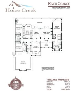 Daniel wayne homes river ridge model first built in horse for Wayne homes floor plans