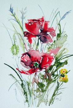 Buy Poppy, Watercolours by Kovács Anna Brigitta on Artfinder. Discover thousands of other original paintings, prints, sculptures and photography from independent artists.