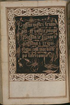 Elaborate Calligraphy - Opera dianto nella quale vedrete molte caratteri di lettere - Antonio Schiratti - 1600-1615