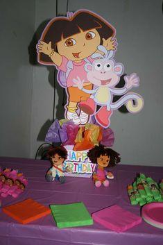 Delainey's Dora Party | CatchMyParty.com