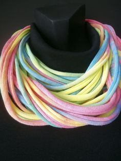 Infinity Scarf  TieDye MultiColored by sister9designs on Etsy, $18.00