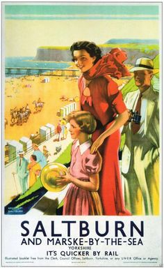 'Unsurpassed for Scenic Grandeur' - Glorious British railway Posters from Between the Wars - Flashbak Posters Uk, Train Posters, Railway Posters, Illustrations And Posters, Poster Prints, 1950s Posters, British Travel, British Seaside, Poster