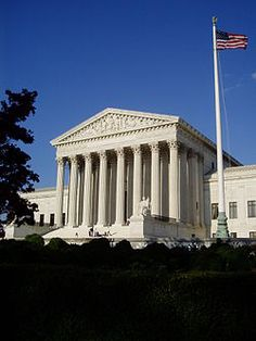The Supreme Court Building is the seat of the Supreme Court of the United States. It is situated in Washington, D.C. at 1 First Street, NE, on the block immediately east of the United States Capitol. The building is under the jurisdiction of the Architect of the Capitol. On May 4, 1987, the Supreme Court Building was designated a National Historic Landmark. It is one of a handful of National Historic Landmarks which are not listed on the National Register of Historic Places.