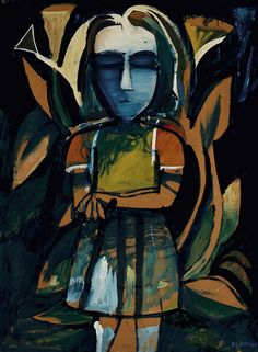 Paintings - Charles Blackman - Page 6 - Australian Art Auction Records Australian Painting, Australian Artists, Picasso And Braque, Modern Artists, Tropical Garden, Art Auction, Female Art, Art Projects, Fine Art