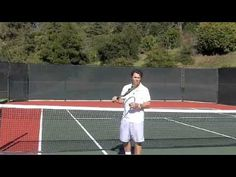 Tennis Serve - Getting Topspin