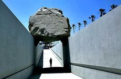 Michael Heizer's 'Levitated Mass' installation opens at LACMA - LA ...
