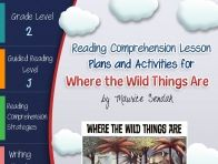 This lesson plan activity package for Where the Wild Things Are comes complete with teacher guides, reading comprehension strategy lesson plans, reader's notebook worksheets, vocabulary activities, in...  click to read more