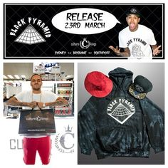 Chris Brown's Black Pyramid line available at Culture Kings. Release date: March 23, 2013