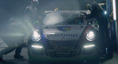 Porsche 911 RSR. Not your average pit stop