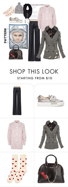 """Embrace them with your heart"" by juliabachmann ❤ liked on Polyvore featuring Dsquared2, BUSCEMI, Burberry, Jean-Paul Gaultier, Liebeskind, Happy Socks, Love Moschino and Markus Lupfer"