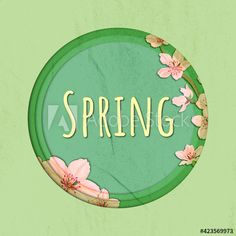 Paper Cutting, Spring, Flower Ornaments, Illustration, Flowers, Image, Illustrations, Royal Icing Flowers, Flower