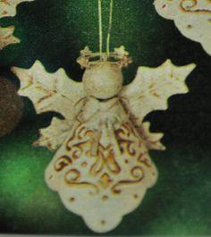 crafty sahm i am: Faux Tin Angel Ornament
