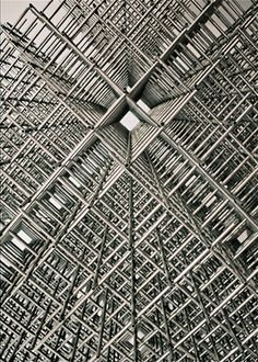 "François Morellet   ""Sphère-trame"" (detail), 1972"