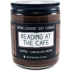 Spooky Stories soy candle by Frostbeard Studio - Candle of the Month - October 2017 Dry Leaves - Campfire - Cocoa Bookish Gift - Literary Gift - Halloween - Fall Fragrance - Book Nerd Gift - Bibliophile - Ghost Stories Candles And Candleholders, Soy Candles, Scented Candles, Round Candles, Spooky Stories, Ghost Stories, Fall Scents, Candle Containers, Me Time