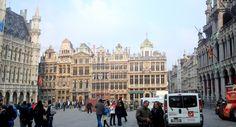 Grand Place - Rue de la Tête d'or et Grote Markt, Brussel.