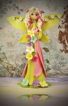 Spring Fairy by fairiesbynuria on Etsy, $39.95
