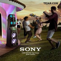 Top Speakers, Powered Speakers, Sony 55, Dj Sound, The Dj, Big Party, Party Lights, Light Project, Club Style