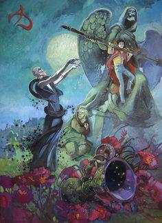 Goblet of Fire Graveyard Scene- http://chyringa.deviantart.com/art/Goblet-of-Fire-255080609