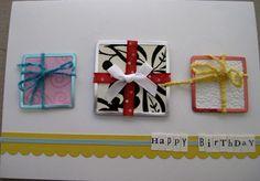 Handmade Birthday Card @Lynn Bonn
