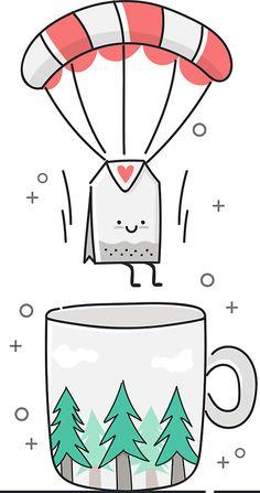 tea time by Irina Strelnikova