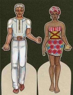 Doctor Joe and Princess Delphine, a houngan and mambo http://flatdoll.com/dovervoodoo/voodoo.html