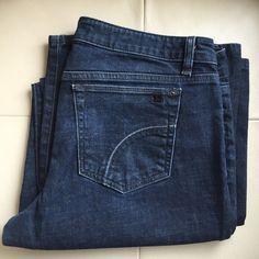 Joes wide leg flare jeans Wide leg dark wash flare jeans Joes Jeans Flare & Wide Leg