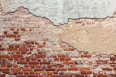 15073872-Old-grunge-bricks-wall-and-cracked-white-plaster-background-Stock-Photo.jpg 1,300×866 pixels