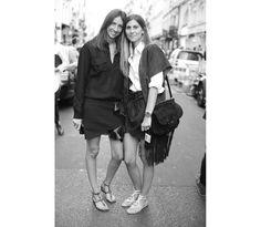 Géraldine Saglio, rédactrice mode de Vogue Paris et Morgane Bedel