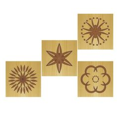 Rosette carvings- product picture