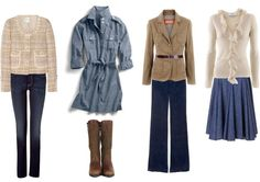 What to Wear for Family Portraits (response to given colours - khaki, white, jean) -- good basic ideas for any portrait.