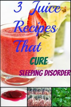 3 Recipes For Juices That Will Help You Sleep Better Than Ever!!