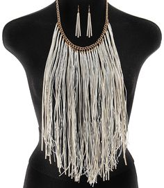 PWB0429 - Fringe necklace - $22.99 : Shop Trendy Jewelry and Accessories, Peeny Wallie Boutique