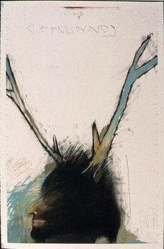 Rick Bartow, Elk Man.