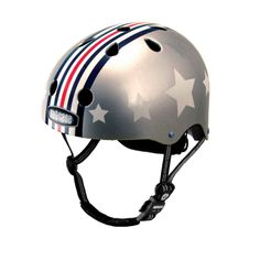 Nutcase Silver Fly Helmet