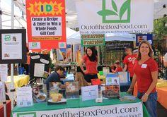Kids Food Revolution Day at the Calabasas Farmer's Market, May 19 2012. Photo: Danielle Gerber