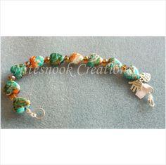 Beautiful bracelet - handmade - hearts - crystals - 01 on eBid United Kingdom