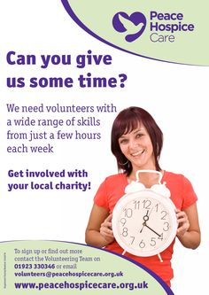 Get in touch with us if you can help.  We have a wide range of volunteering opportunities - and it's great for your CV!