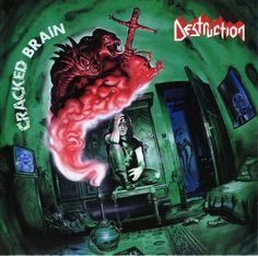 I have put together this gallery of beautiful thrash metal album covers which greatly express the musical tones on each CD. Thrash Metal, Iron Maiden, Destruction Band, Metallica, My Sharona, Silly Songs, Bad Songs, Vinyl Poster, The Knack