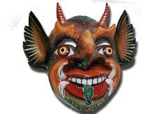 Saqra Diablo de Paucartambo , Cuzco. Museo Virtual de Arte Popular Ayllumedia. Fuente: Colección Santiago Rojas, Cuzco. Foto e investigación de Teatro andino : Herbert Salas