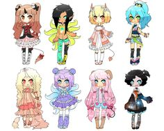 Monster Girl Adopts || Closed~ by Tenshilove on DeviantArt