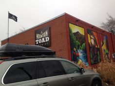 Mountain Toad... The best stop in Golden CO