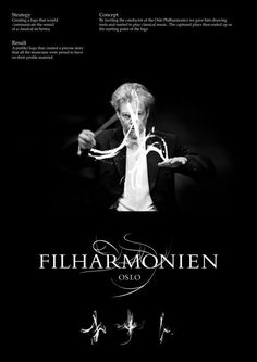 "Oslo Philharmonic Orchestra: ""OSLO PHILHARMONIC"" Print Ad  by Bleed"