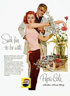 32 Pepsi Cola Adverts For Adults Living The American Dream - Flashbak